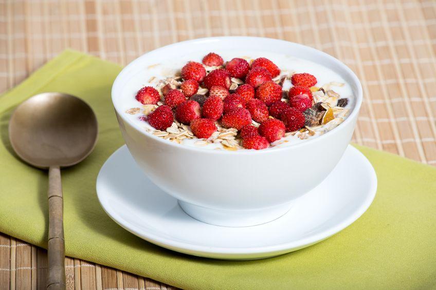 granola de frutas vermelhas