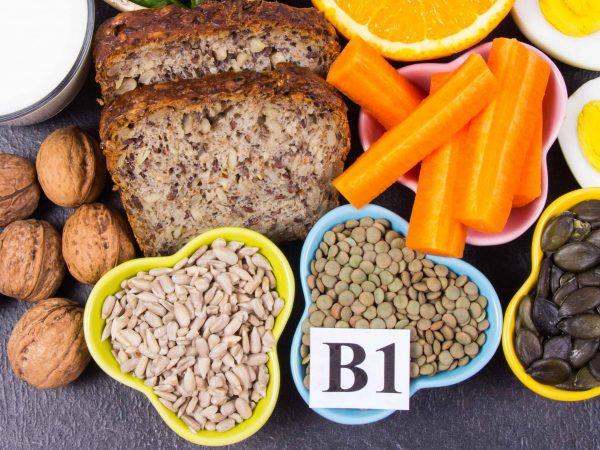 grãos cheios de vitamina d1