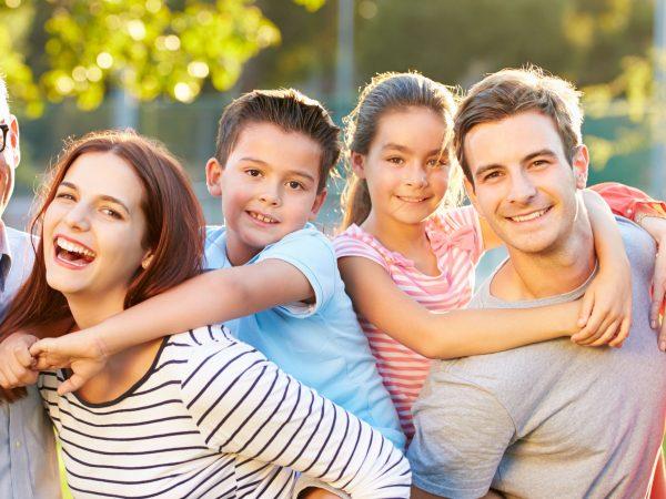 família saudável