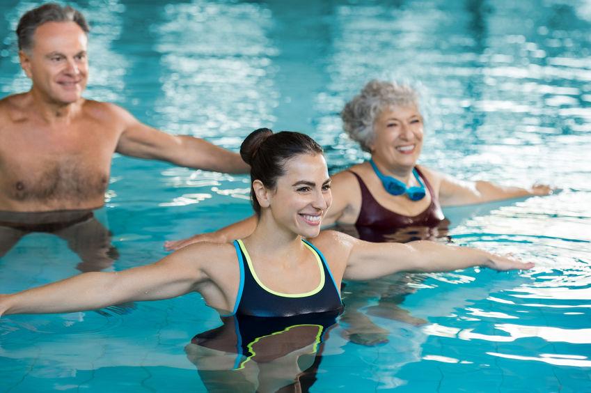 fisioterapia na água