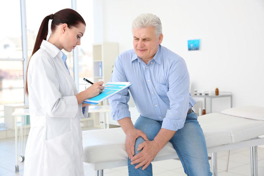 consulta médica para artrite