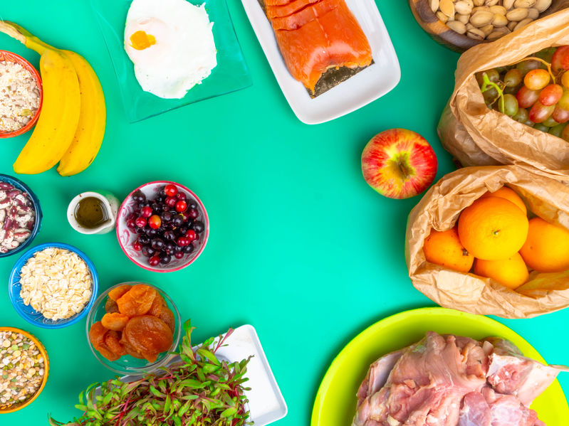 comida saudável para a gravidez