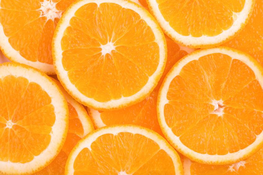 laranjas ricas em vitamina c
