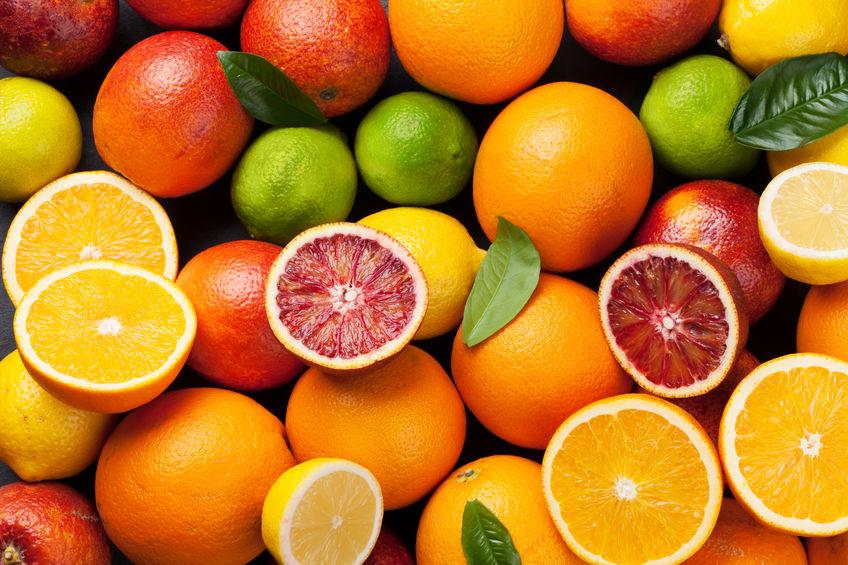 laranjas e toranjas ricas em vitamina c