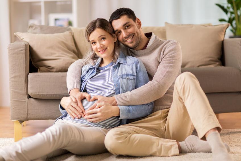 casal esperando bebê