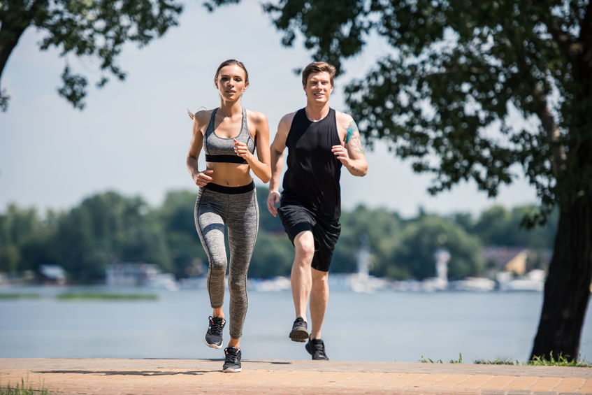 casal de fitness