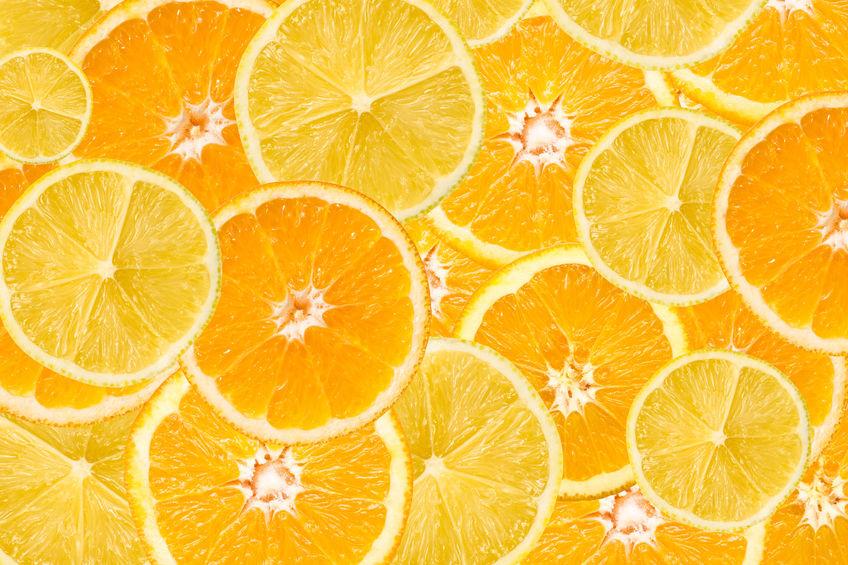 cítricos ricos em vitamina c