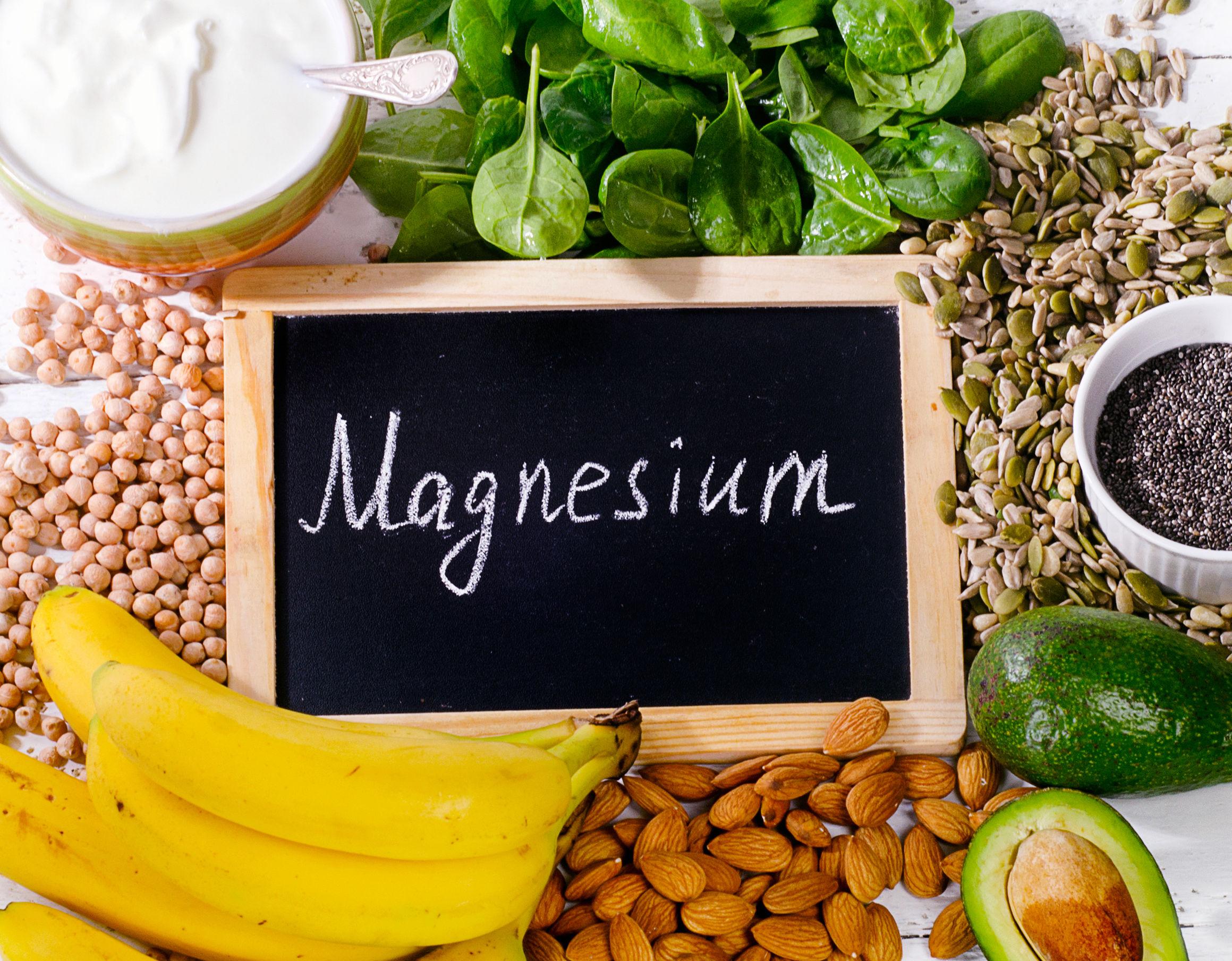 benefícios do magnésio