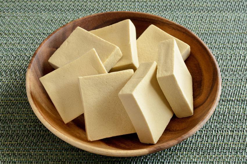tofu na tigela