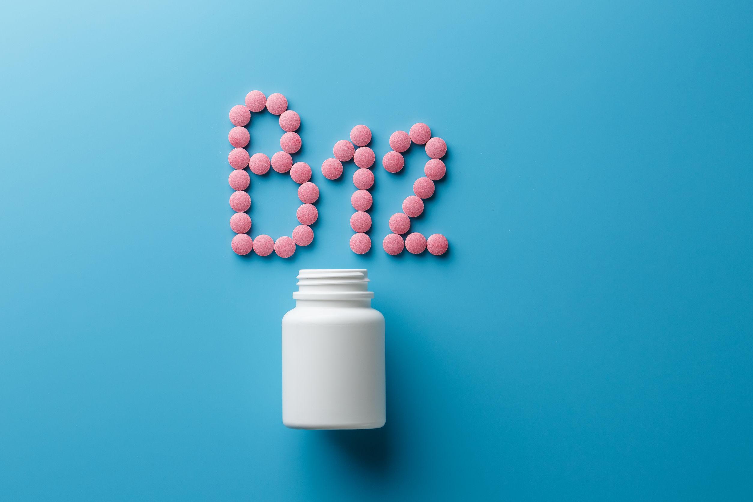 comprimidos de vitamina b12