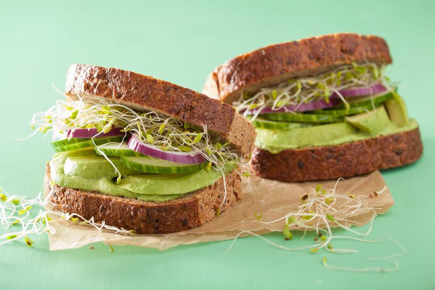 sanduíches saudáveis