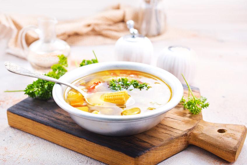 a healthy soup