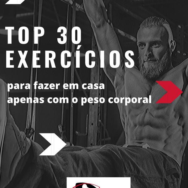 Top 30 exercícios para fazer em casa
