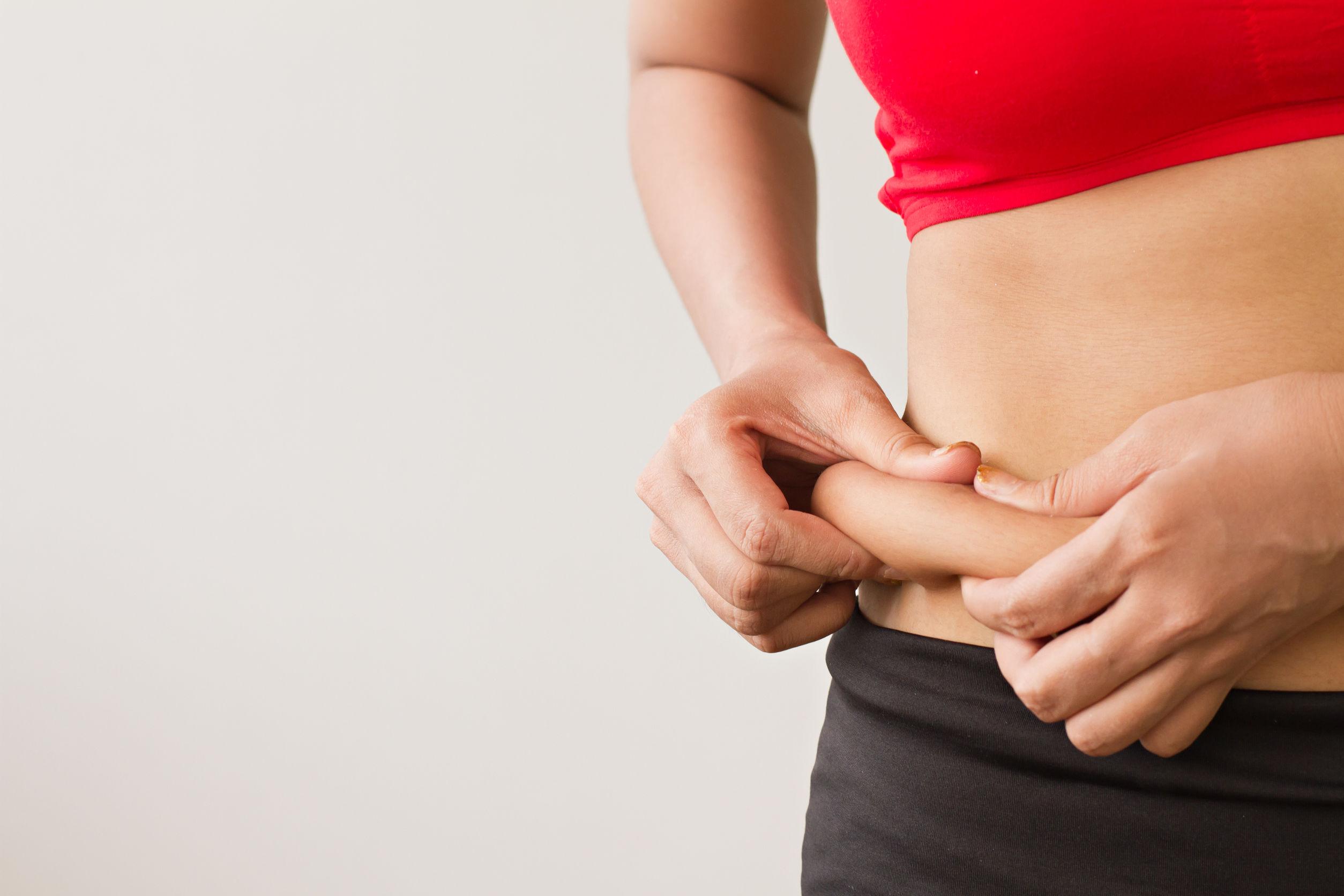 gorduras que podem ser eliminadas com exercícios para perder barriga
