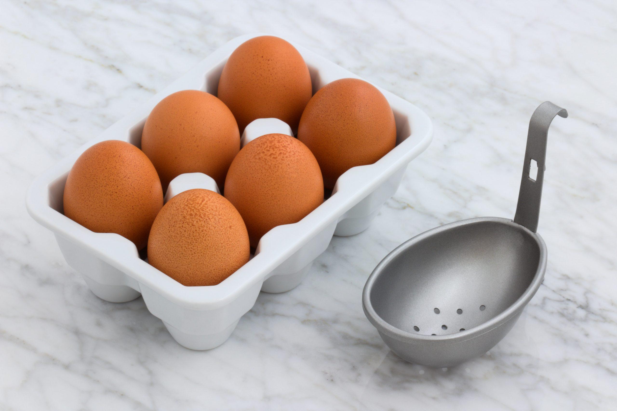 Imagem de uma caixa de ovos.