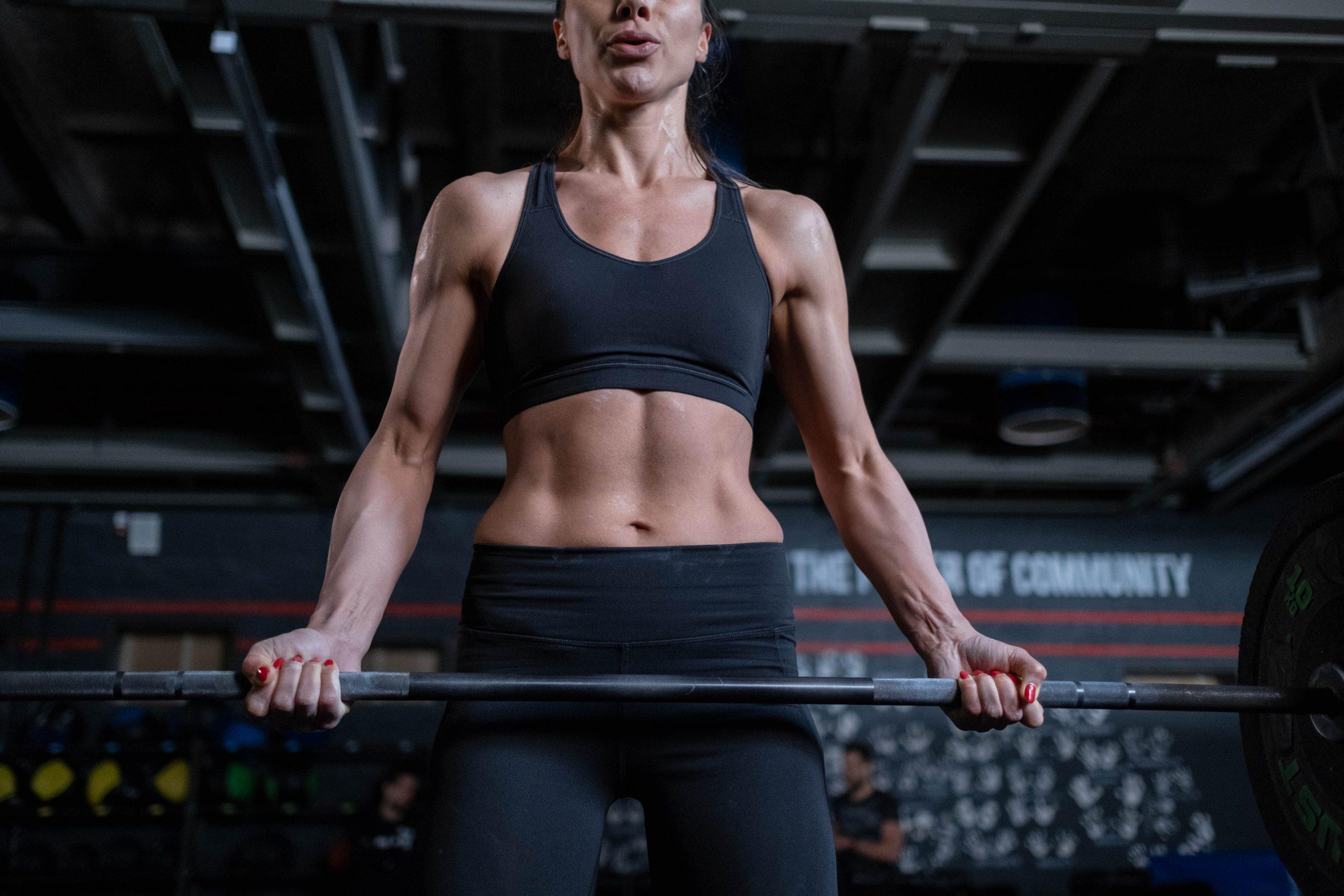 Imagem de uma pessoa se exercitando.