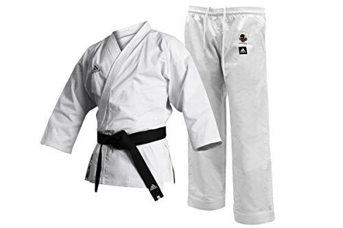 Kimono Karate Club Adidas Wkf 190 Branco