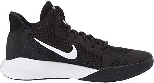 Tênis de basquete Nike Precision Iii, Preto/branco, 6.5