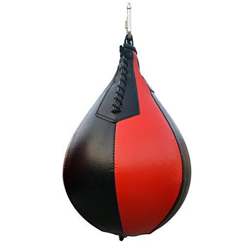 Forfar Saco Gota de Boxe, PU - Preto/Vermelho