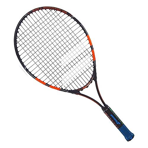 Raquete de Tenis Babolat Ballfighter 25 Preto/Laranja - Encordoada