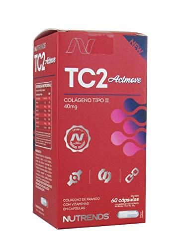Tc2 Actmove Colágeno Tipo 2 Articulações (60 Caps) Nutrends