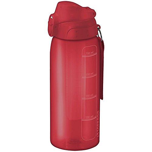 Squeeze 750Ml com Tubo de Gelo, Soprano, 0540, Vermelho, Pequeno
