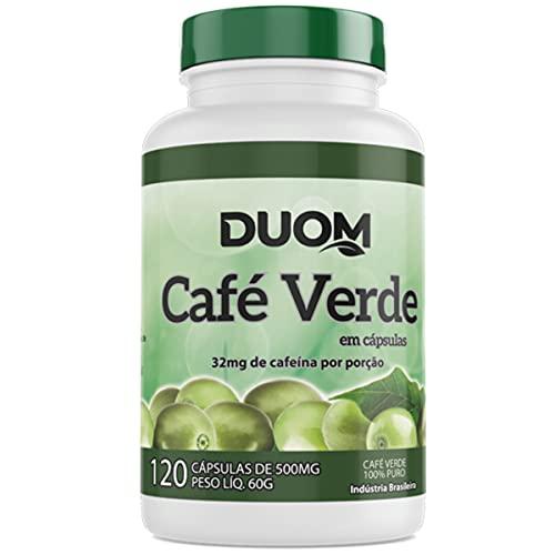 Café Verde Cromo e Vitaminas 600mg 60 Caps - Duom