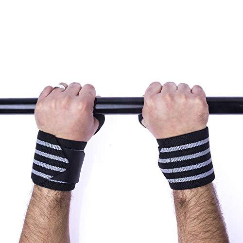 Munhequeira Profissional Musculação Powerlifting Lpo Pulso