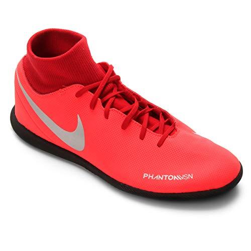 Chuteira Nike Botinha Futsal Phanton Vsn Club Df Ic Tamanho:41;Cor:Vermelho