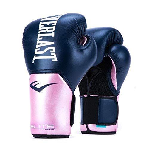 Luvas de treinamento Everlast Elite Pro Style, Rosa/Azul