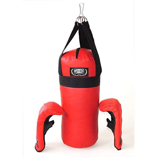 Kit Box Infantil Junior Punch Unissex 0,35x0,15x0,15, Vermelho
