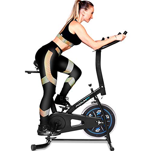 Bicicleta Ergométrica Spinning PodiumFit S100 - Roda 8kg - Silenciosa