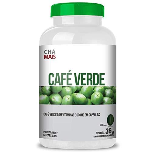 Café Verde 500mg Chá Mais 60 cápsulas
