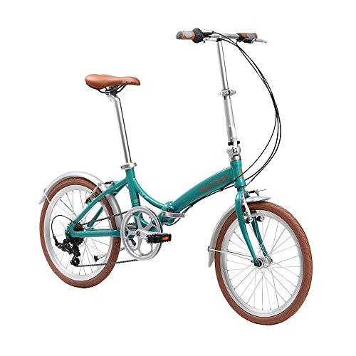 Bicicleta Rio Dobravel, Aro 20, 7 velocidades, Durban, Verde