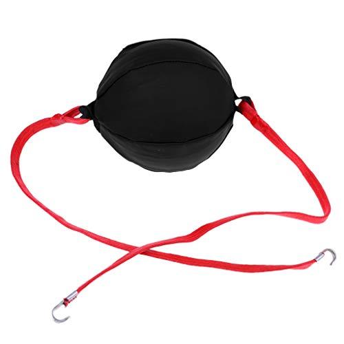 Almencla Fight Ball Reflex, Boxing Ball, Double End Punching Bag, Boxing Equipment Trainer - Preto