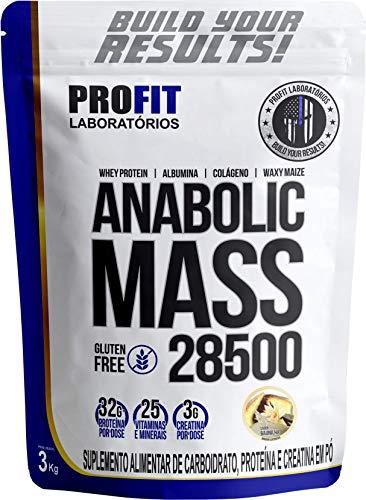 Anabolic Mass 28500 Baunilha 3Kg, Profit