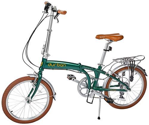Bicicleta Sampa Pro Dobravel, Aro 20, 7 velocidades, Durban, Verde