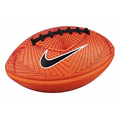 Mini Bola de Futebol Americano 500 4.0 Fb 5 Nike Pequeno Laranja
