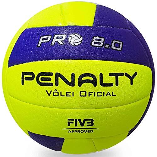 Bola VôleiI 8.0 Pro IX Penalty, Amarelo, 67cm