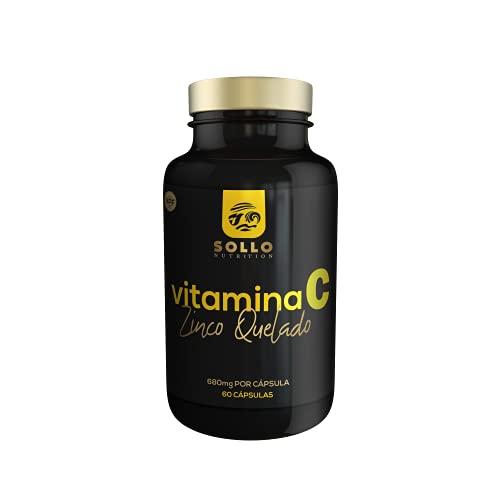 Zinco e Vitamina C - 60 Cápsulas