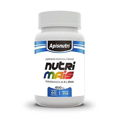 Nutri Daily Polivitamínico A - Z 450mg (60 caps), Apisnutri