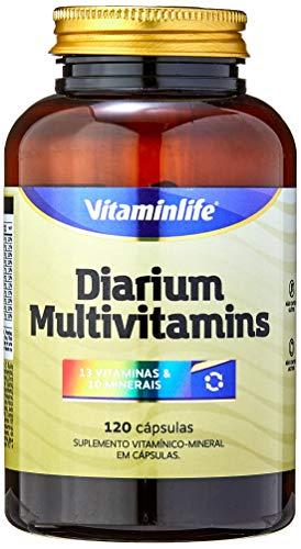 Diarium Multivitamínico, VitaminLife, 120 Cápsulas