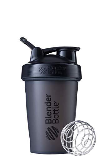 Garrafa de Coqueteleira Clássica BlenderBottle com Laço na Parte Superior, 590 ml, Preta