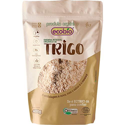 Farinha De Trigo Integral Orgânica Ecobio Produto Orgânico