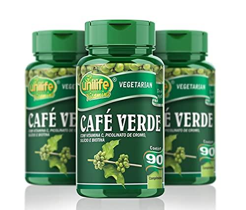 Café Verde - 3 unidades de 90 Comprimidos - Unilife