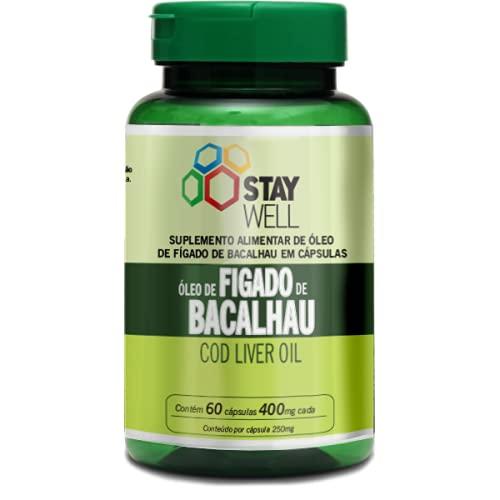 Óleo de Fígado de Bacalhau 60 cápsulas – Stay Well