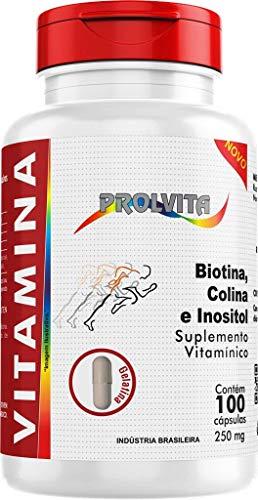 Biotina Coina e Inositol 100 capsulas 250 mg