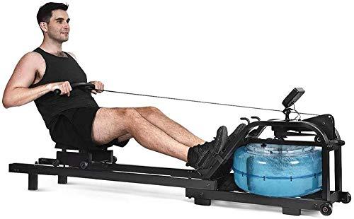 Máquina de remo residencial silenciosa para treinamento de fitness, máquina de remo de resistência, braço de peito abdominal, equipamento de fitness aeróbico, adequado para exercícios de fitness, atualização