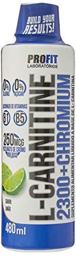 L-Carnitine 2300 e Chromium Limão 480Ml, Profit