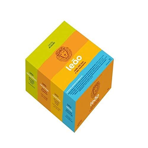 Leão Chá Funcionais Caixa Mista 4 Sabores 60Sq